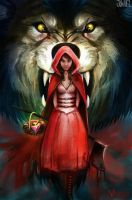 Commission: Red Riding Hood by JowieLimArt