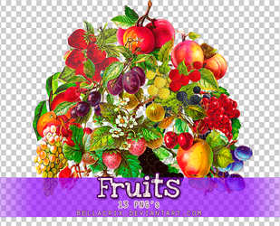 Fruits PNGs by Bellacrix
