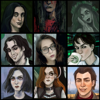 art vs artist meme by Sipr0na