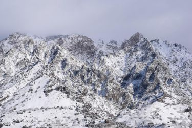 Snowy Mountains by SoulsofTheDoomed