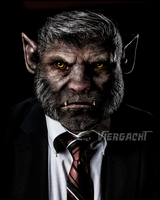 Well-Dressed Wolfman by Viergacht