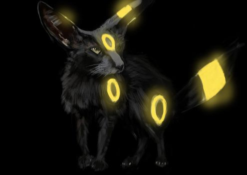 Umbreon by thelonelyisland