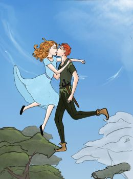 Peter and Wendy by flozoa