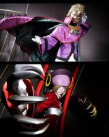 BlazBlue: Relius and Ignis Clover by SweetCinn