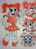 Circus Baby by TheNerdyKat