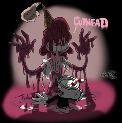 Baroness and the Dark Candy - Cuphead by AVM-Cartoons