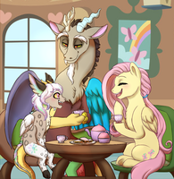 MLP - Tea For Three by MiaMaha