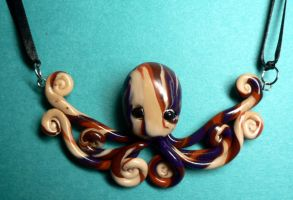 Choker Octopus Necklace by BlackMagdalena