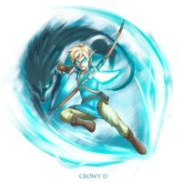 Link From Legend of zelda breath of the wild ! by CrowyD