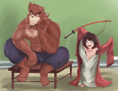 The boy and the beast by mpanda2016