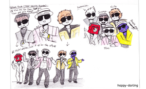 Uptown Funk (FNAF Security guards) by happy-darling