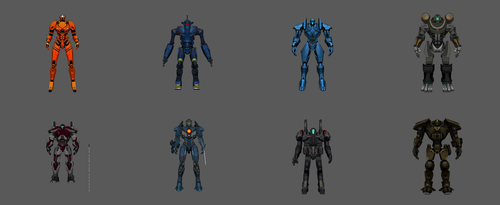 Pacific Rim: Breach Wars - Jaeger Pack 1 by KittyInHiding