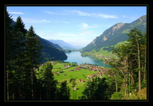 Switzerland countryside by H6RM