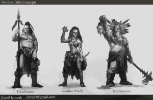 Voodoo Tribe Concepts by Sarmati