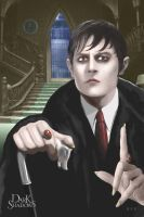 Dark Shadows Barnabas Collins Portrait 1 by SciFiArtMan