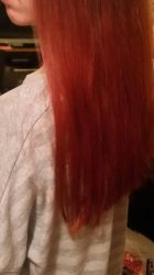 I dyed my hair by firdevsa