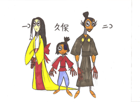 Kubo and the Two Stitchpunks by Scared2dream