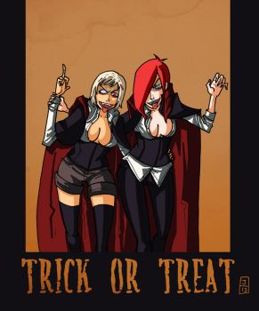 halloween lucia x frances by jaliet