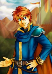 FE: Eliwood by Card-Queen