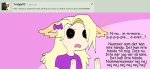 Question 44 No More Pie by AskStelera