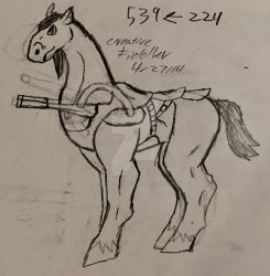 Stallion Cannons-old art 2014 by CreativeFiddler
