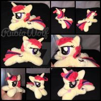 EFNW '17 - MLP 6 inch mini Moondancer beanie by RubioWolf