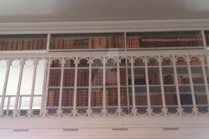 Books from the old library in Koldinghus by Misse-Chan87