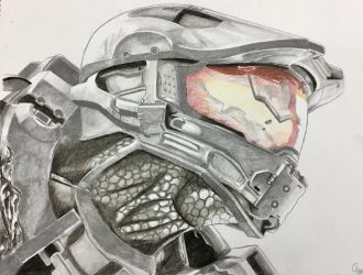 Master Chief II by Starr-Fall