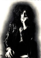 Jimmy Page II by MsRainmaker