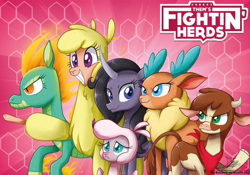 .:Them's Fightin' Herds:. by The-Butcher-X