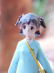 Akagi Miria Idolm@ster Paper craft 5 by epeldoll