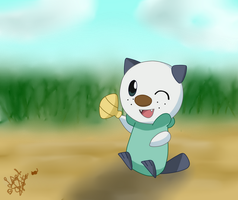 Cute Oshawott by LaahGata