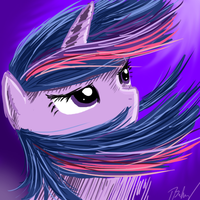 Twilight Sparkle by reltyxart