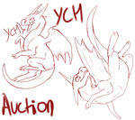 Dragon YCH Auction- Open by Pirate-Reaper