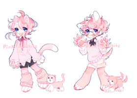 Auction | Pink and White {CLOSED} by cityrus