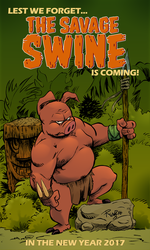 Savage Swine Ad web by Renzo1991