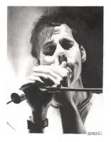 Andrew McMahon Charcoal by chromefox