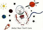 Water Bear in Space by Perlana