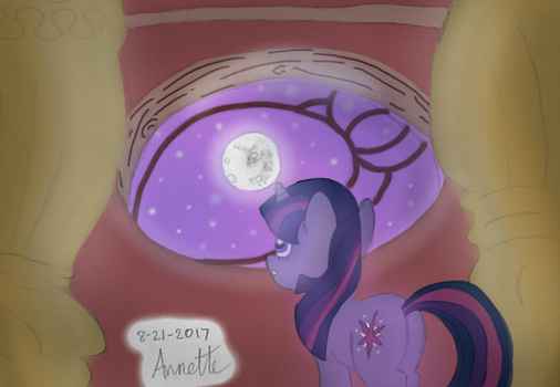 The stars shall aid in her escape...(ATG Day 22) by A-Bright-Idea