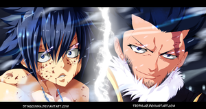 Fairy Tail 386 - Gray and Silver - Son and Dad? by StingCunha