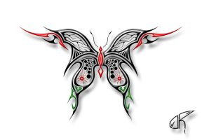 Butterfly Four by Democris