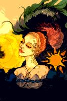 The Lady of the Sun by chaosqueen122