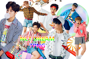 NCT DREAM PNG PACK {Chewing Gum 2} by kamjong-kai