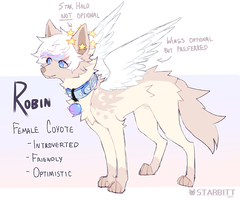 Robin Ref Commission by STARBITT