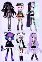 Pastel Goth Auction (closed) by Kariosa-Adopts