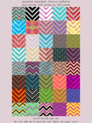 Pattern: Assorted Chevrons by HGGraphicDesigns