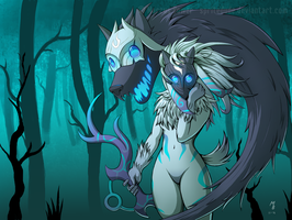 League of Legends - Kindred by Spritedude