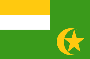 Central African Republic Flag (1976) Proposal by dragonvanguard