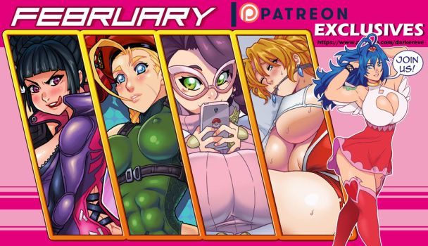 Patreon Exclusives February 2018 by DarkerEve