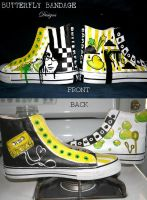 Front and Back Katie's Shoes by unappreciatedart